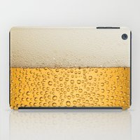 beer iPad Cases featuring Beer by Rorzzer