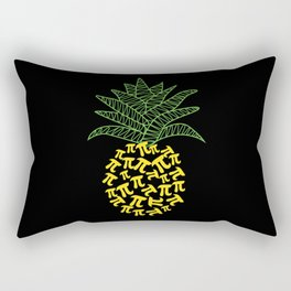 Pi-Neapple Pineapple Rectangular Pillow