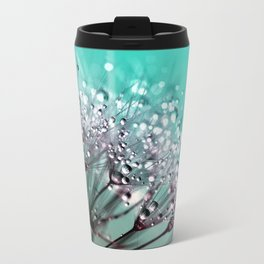 Dandelion Blue Diamonds Travel Mug
