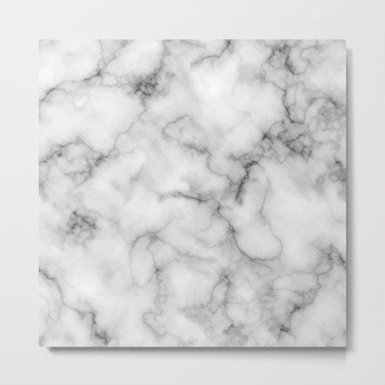 Marble Art V3 Metal Print