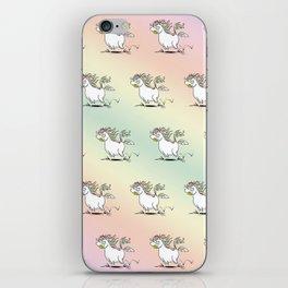 Farting Unicorn iPhone Skin