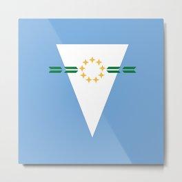 flag of Formosa (argentina) Metal Print
