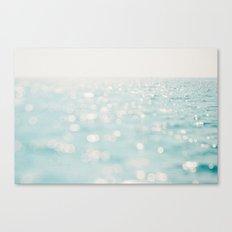 Sparkles at sea Canvas Print
