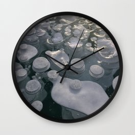 Fancy Bubbles Wall Clock