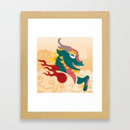 Silly Bestiary : Kirin Framed Art Print