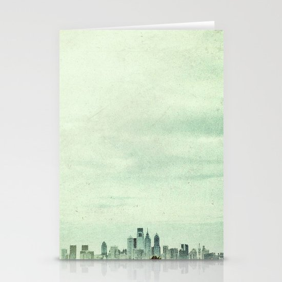 Sapphire City Stationery Cards