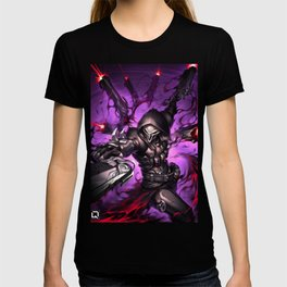 reaper over T-shirt