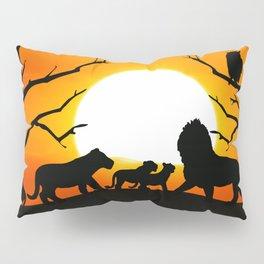 Lion family Pillow Sham