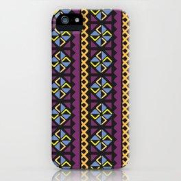 Fini Motifs from Bambara iPhone Case