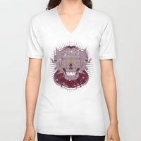 disco V-neck T-shirts featuring Disco by Tshirt-Factory