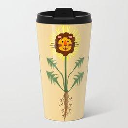 Dandy Lion of the Lawn Travel Mug