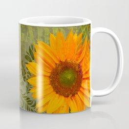 Sunflower Garden II floral art Coffee Mug