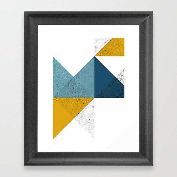 Modern Geometric 19 Framed Art Print