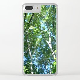 Light through the canopy of the trees Clear iPhone Case