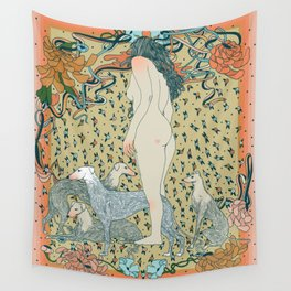 Heavy Petting Wall Tapestry