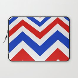 Patriotic Chevron Pattern Laptop Sleeve