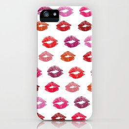 With love and kisses iPhone Case