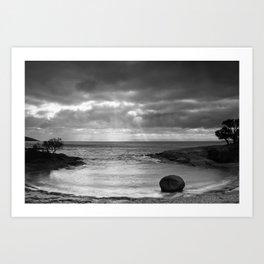 Honeymoon Bay  Art Print