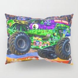 Monster Jam Grave Digger Pillow Sham