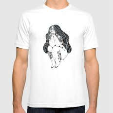 La fille tatouée X-LARGE White Mens Fitted Tee