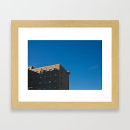 Joplin Brick Building  Framed Art Print