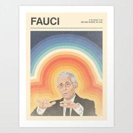 Fauci Poster Art Print