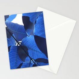 Close Up Leaves II Stationery Cards