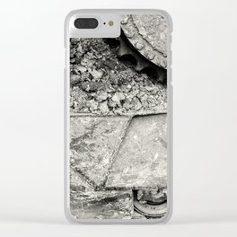 Bulldozer Dirt Fest Clear iPhone Case
