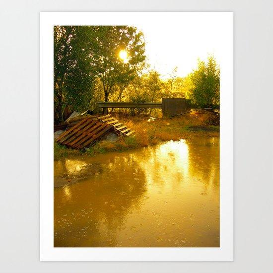 Let it rain... Art Print