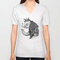 Punk Fish Unisex V-Neck