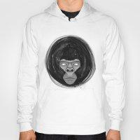 gorilla Hoodies featuring Gorilla  by dchristo