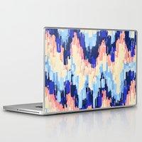 rush Laptop & iPad Skins featuring Rush (Blue) by Jacqueline Maldonado