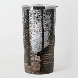 Mystic Log Cabin Travel Mug