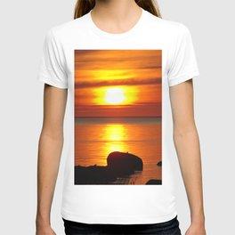 Hazy Seaside Sunset T-shirt