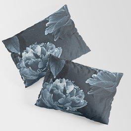 Blue Peonies Pillow Sham