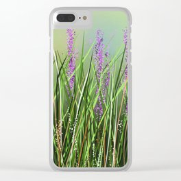 Lavenders Clear iPhone Case