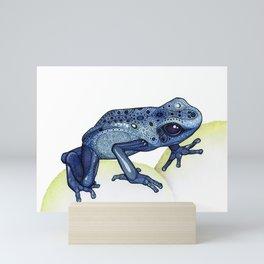 Poison Dart Frog Mini Art Print