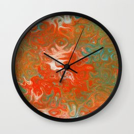 As Luck Would Have It, Abstract Art Wall Clock