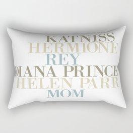 Kickass heroines Rectangular Pillow