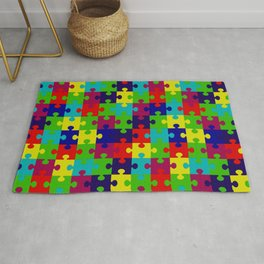 Puzzled Rug