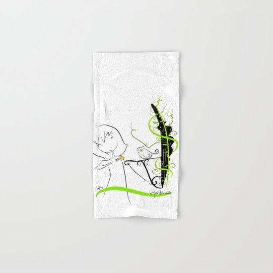 tea break Hand & Bath Towel