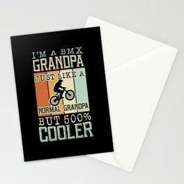 I'm A Bmx Grandpa Normal Grandpa Stationery Cards