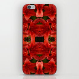 """""""A Gathering of Lilies"""" Remix - 1 (1-1) [D4465~12] iPhone Skin"""