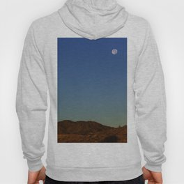 Full Moon Over The Mountains Hoody