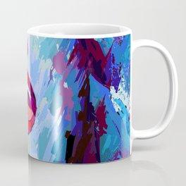 painting of a girl sings Coffee Mug