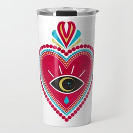Ex Voto Sacred Heart Travel Mug