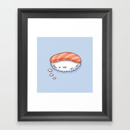 Sushi Dream Framed Art Print