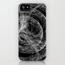Complex Mable Pattern iPhone Case