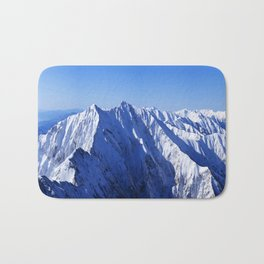 Shapes of Mountain Bath Mat