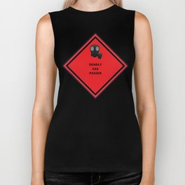 Caution: Deadly Gas Passer Biker Tank